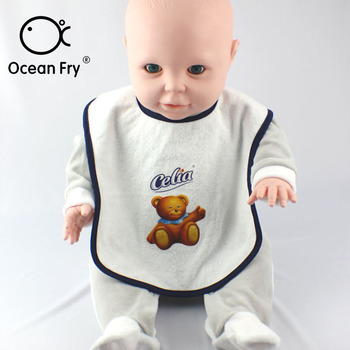 Newborn Baby Feeding Bib Cotton Burp Cloths Toddler Boy Infant Saliva Towels Bear Cartoon Bibs Feeding Burp Cloth Dropshipping