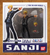 Japanese Anime Figures the New World Two Years Later Sanji One Piece Action Figures  PVC Free Shipping