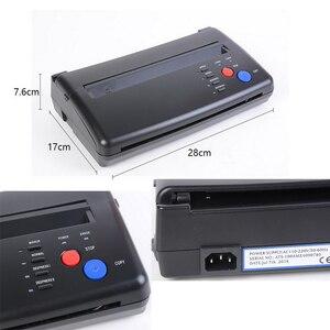 Image 3 - Tattoo Transfer Machine Kopie Stencil Machine Printer Tekening Thermische Stencil Maker Copier Voor Tattoo Transfer Paper Supply