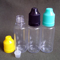 20 unids/lote PET 20 ml Colirio Botella Cuentagotas De Plástico Con Tapa A Prueba de niños Punta Para e Líquido Botella Envío gratis