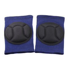 Hot 1 Pair Protective Knee Pads Thick Sponge Anti-slip Collision Avoidance Sleeve for Sports  DO2