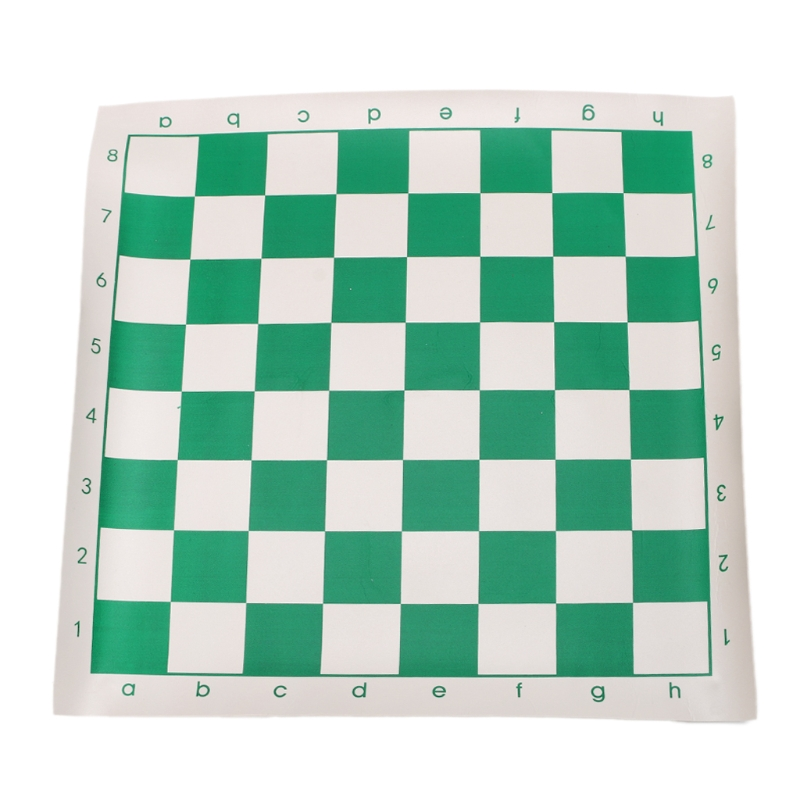 OOTDTY 1PC Imitation Leather Chessboard Standard International Chess Kid Educational Games ...