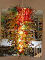 Free Shipping Fantastic Lighting Murano Chandelier