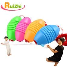 Ruizhi Bola Shuttle para niños, actividades de guardería, juguete deportivo exterior interactivo para padres e hijos, juguete de combinación doble RZ1053