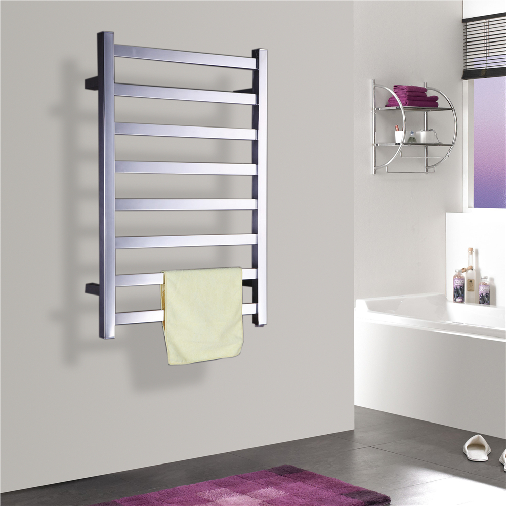 1pc Heated Towel Rail Holder Bathroom Accessories Towel: Free Shipping Stainless Steel Wall Mounted Towel Warmer