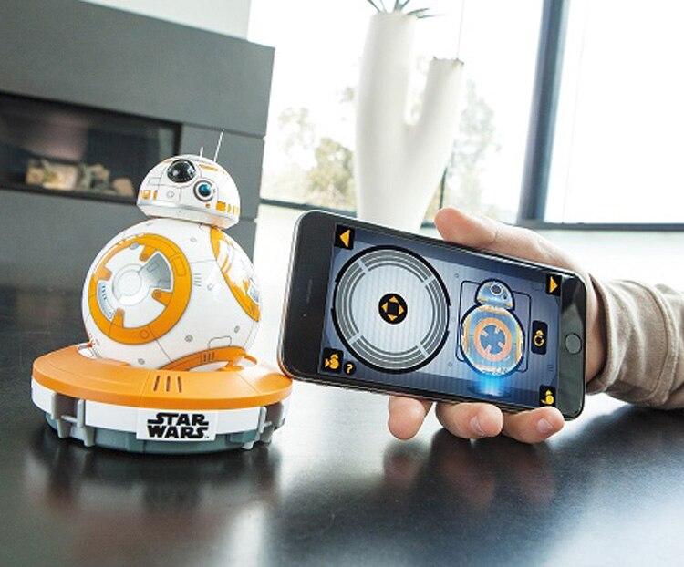 Sphero BB-8 Star Wars Bluetooth télécommande robot intelligent petite boule intelligence jouets Pour enfants cadeau livraison gratuite - 5