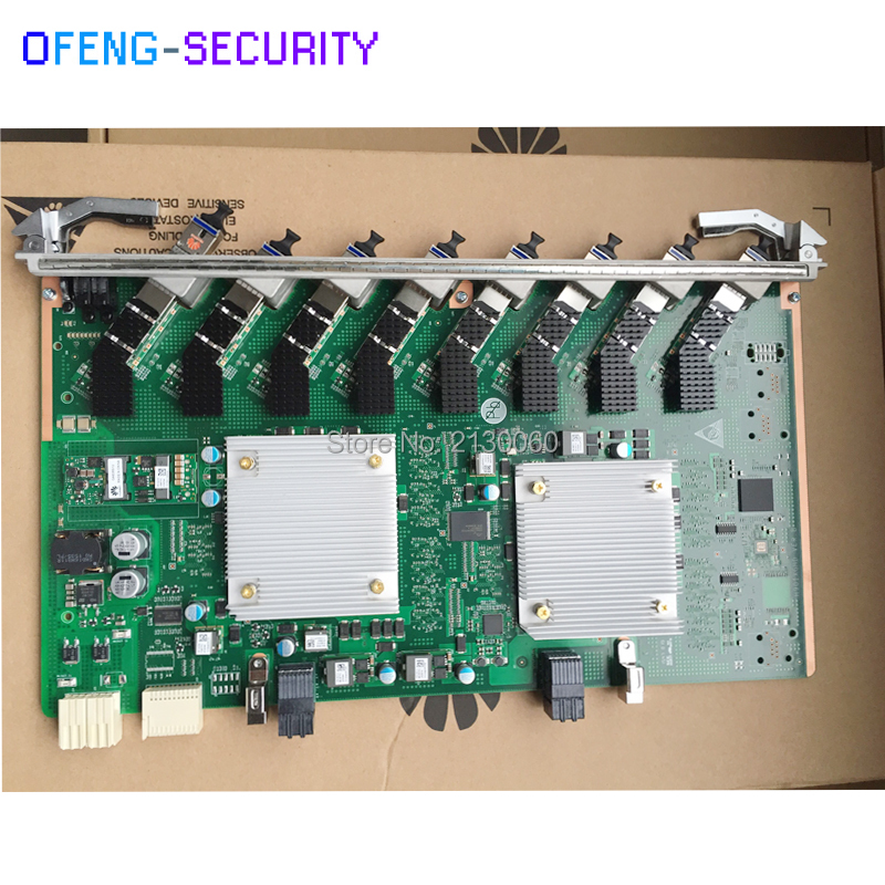HUAWEI OLT XGHD 8 Ports GPON Board XGHD For 10GE MA5800 OLT With 8 SFP Modules