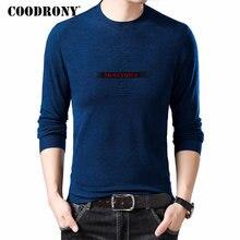 COODRONY Brand Sweater Men Streetwear Fashion Casual Pullover Autumn Winter Knitwear Pull Homme Cotton Woolen Sweaters 91045