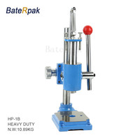 HP 1 Manual Press BateRpak HIGH Quality Strong Heavy Duty Desktop Manual Press Machine Small Punch