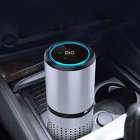 2019 HEPA Filter Car Air Purifier Negative Ion Generator Freshener Air Cleaner Removing Formaldehyde for Car Home Air Purifier