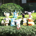 Wholesale Full  9 pcs/set 17-21 cm pokemon eevee plush  Sylveon stuffed Eevee Espeon Jolteon Vaporeon Flareon Glaceon toys