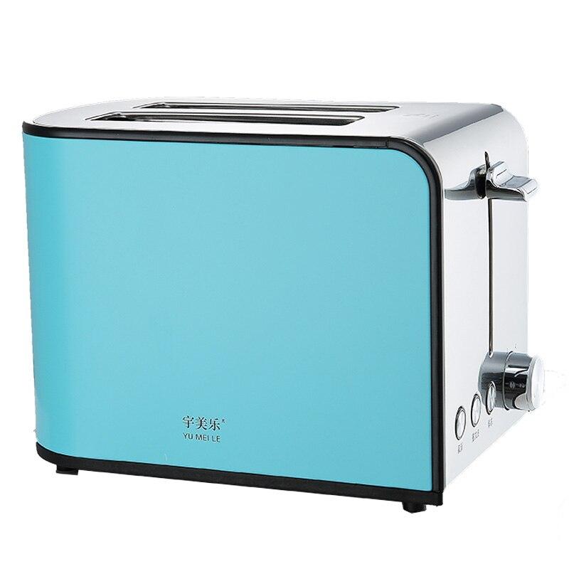 Toaster Home Stainless Steel 2 Toaster Automatic Multifunction Toaster Breakfast Toast toaster dsl a02g1 toast home toaster automatic breakfast toast
