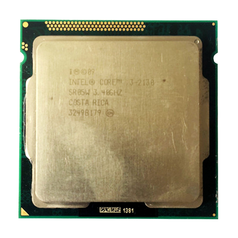 INTER DUAL CORE I3 2130 Cpu 3.4ghz 3M Cache LGA 1155 TDP 65W Desktop Processor Can Use B75 B85 Z77 H61 MOTHERBOARD