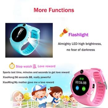 Vm50 Q360 Enfants Montre Smart Watch avec Caméra GPS WIFI Emplacement Enfant smartwatch SOS Anti-Perdu Moniteur Tracker bébé Montre-Bracelet PK Q528 1