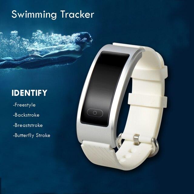 TK31 Smart Band Swimming Tracker Heart Rate Monitor Smartband Waterproof Intelligent Sport Bracelet Wristband PK Mi Miband 2
