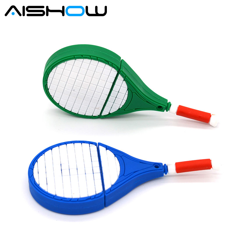 U Disk pen drive cartoon gun 2gb/8gb/16gb/64gb bulk tennis racket usb flash drive flash memory stick pendrive mini free shipping