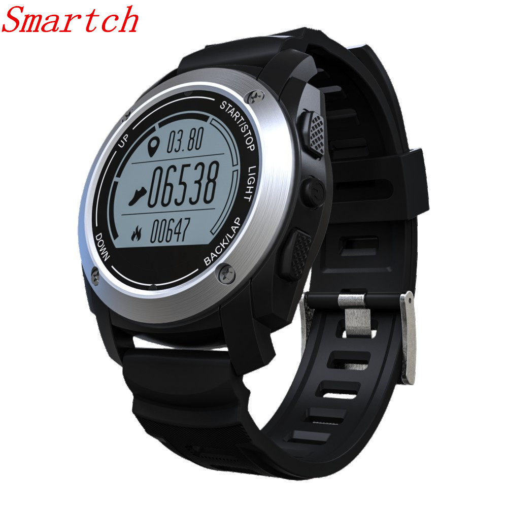 Smartch S928 GPS Smart Watch Outdoor Sport Smartwatch with Heart Rate Monitor Pedometer Fitness Tracker for Android IOS Phone new wifi android smart watch wrist watch smartwatch heart rate monitor fitness tracker pedometer for sumsang galaxy gear 2