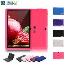 EXpro X1s iRULU 7 Pulgadas Android 4.4 Tablet PC Quad Core 8G ROM 1024*600 HD Ordenador con Teclado Caso 2015 Nueva Caliente venta