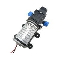 DC 100W Automatic Switch Diaphragm High Pressure Small Water Pump 12v 8L Min