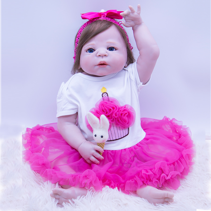 High quality realistic red skin Silicone Body Girl Reborn Doll Alive Baby Non-toxic Toys Lifelike rooted hair Princess icy Doll High quality realistic red skin Silicone Body Girl Reborn Doll Alive Baby Non-toxic Toys Lifelike rooted hair Princess icy Doll