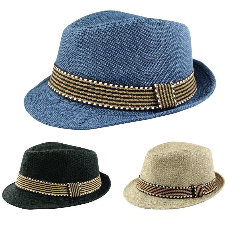 2018 Kids Boy Hats Fedora Hat Children Chap Eu Panama Hat