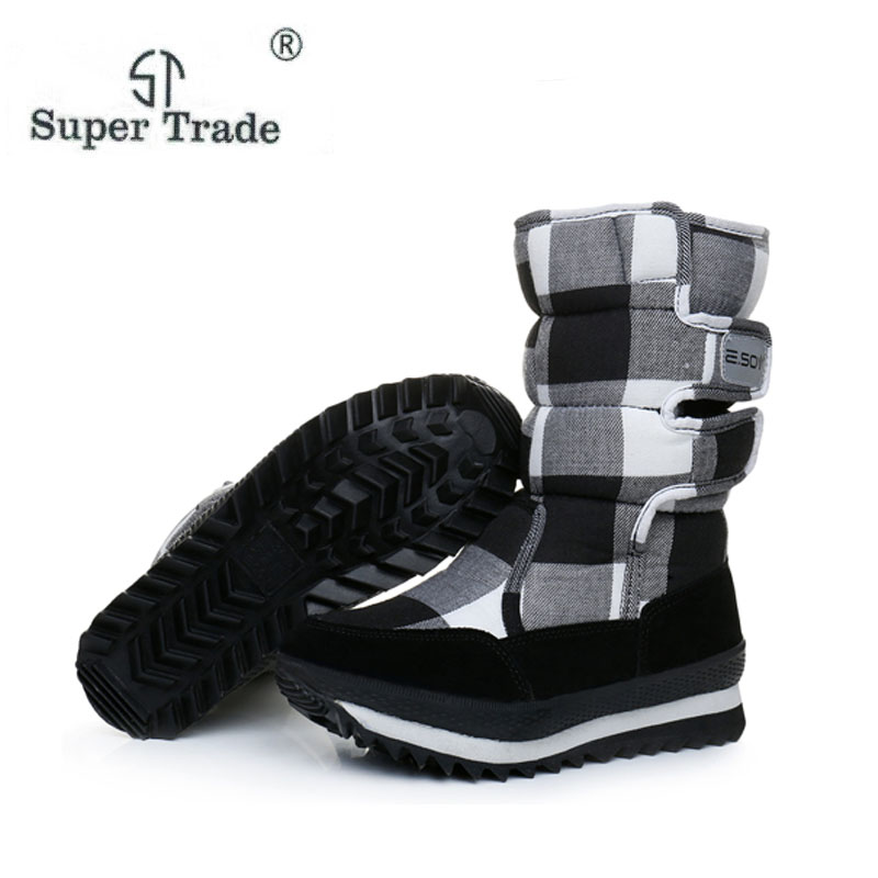 Woran Winter Boots Women Fashion Snow Boots New Style 2018 WomenS Shoes Brand Shoes High ...