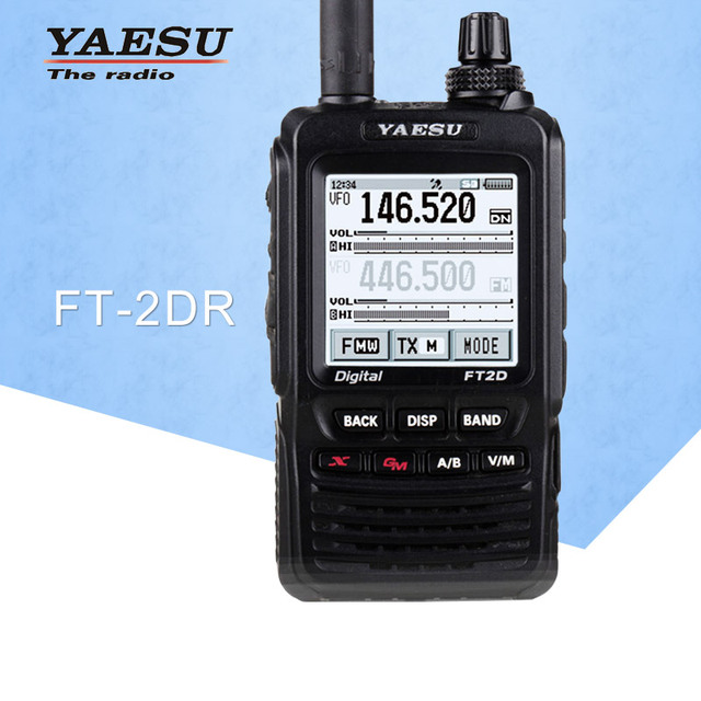 General Walkie Talkie for FT2DR Dual-Band 140-174/420-470 MHz FM Ham Two Way Radio Transceiver Yaesu FT2DR Walkie Talkie