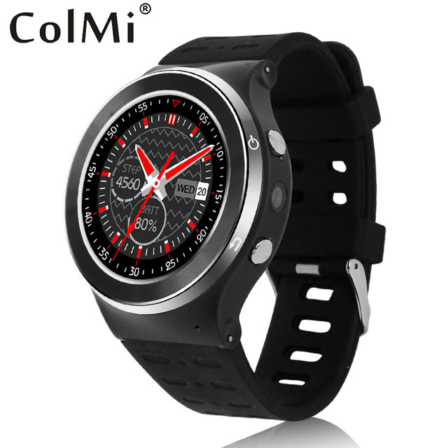 ColMi VS104 Smart Watch Android 5.1 MTK6580M GPS WI-FI 512 МБ RAM 4 Г ROM Поддерживает Sim-карты 3 Г сеть Smartwatch