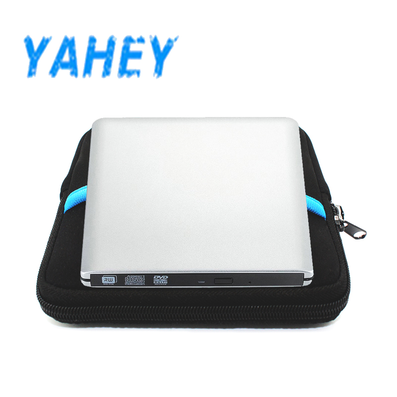 цена External USB 3.0 DVD drive CD-RW/DVD-RW Burner Drive CD/DVD ROM Player Portable Drive for Apple iMacbook Pro +drive bag
