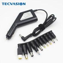 Мульти-Тип 90 Вт блок питания Автомобильное зарядное устройство ноутбук адаптер для ACER/hp/DELL/samsung/lenovo/Asus 19V 4.74A с USB 2A для смартфона