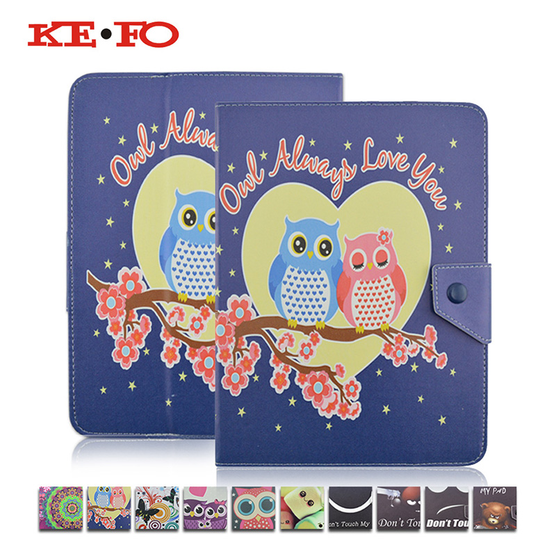 KeFo Universal Case For Tablet 7 inch For Prestigio Grace 3257 4G 7.0 Inch Leather Cover For Prestigio MULTIPAD Grace 3157 3G кулоны подвески медальоны sokolov 035318 s