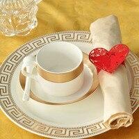 100 יח'\חבילה טבעות מפית לחתוך לייזר אדום אבזמי מפית נייר יונה בעל מפית בית אירועים חתונה דקור טובות