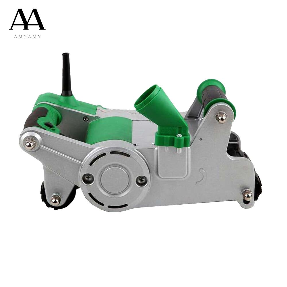 AMYAMY Heavy Duty Électrique Mur Chaser Machine mince coupeur de béton Notcher Machine de découpage de rainure Coupe-carreaux 1100 Watt 220 V