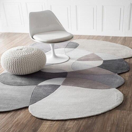 Необычный журнальный столик для гостиной, спальни, акриловые ковры ручной работы на заказ, ковры для гостиной, коврики для спальни - Цвет: 2