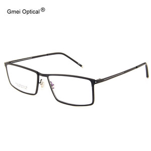 Image 1 - Gmei אופטי LF2022 מתכת מלא שפת מסגרת משקפיים לנשים וגברים Eyewear משקפיים