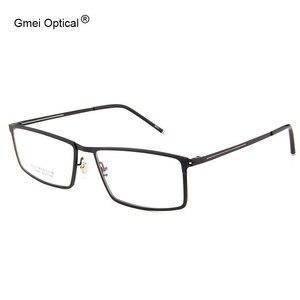 Image 1 - Gmei Optical LF2022 โลหะFull RIMกรอบแว่นตาสำหรับสตรีและผู้ชายแว่นตาแว่นตา