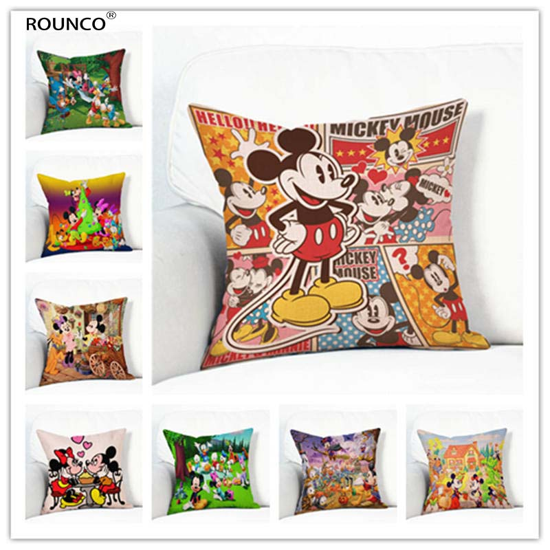 For Sale Nette Mickey Mouse Donald Duck Cartoon Muster Kissen