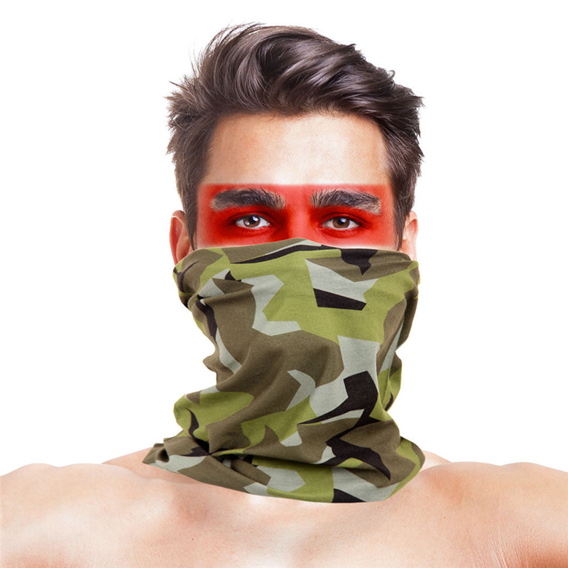 High-Jump Tactical Pirate Hats Ear Muffs Elastic Polyester Quick Dry UV Reduction Headwear Scarf Multi Wear Bandanas Accessories