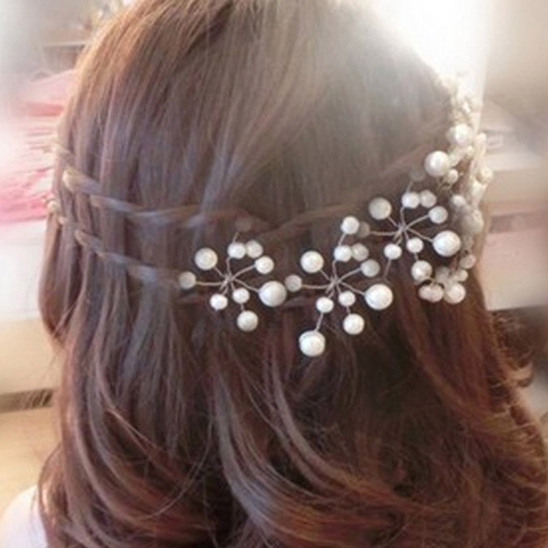 Women's Bridal  U-Shaped Hairpins Hair Clips Pins Bridesmaid Hairwear Jewelry Hair Accessories