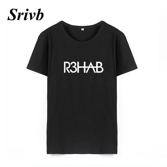0cba1e815e5db US $6.92 35% OFF|Srivb R3hab Dj Music Punk Rock Women Tee Shirt Femme  Tumblr Plus Size Loose Print Women Tops Short Sleeve Harajuku Women  Tshirt-in ...