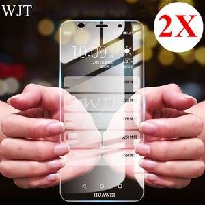 Image 1 - 2PCS 9H Gehard Glas Voor Huawei Y3 Y5 2017 Y6 ii Compact LYO L01 CAM L21/L03/L23 4C Y635 Y6 Pro Y5 2018 Screen Protector Film