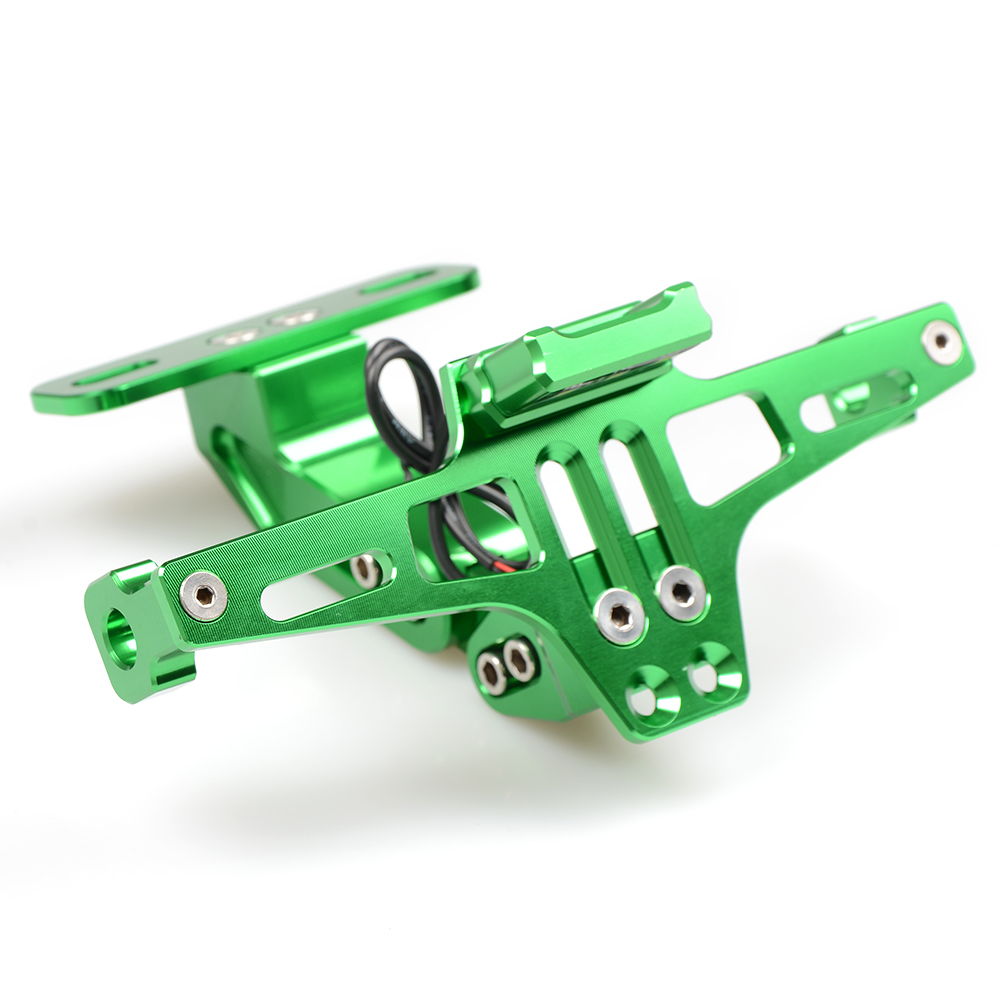 Moto License plate Bracket Support Pour Honda CB 599 919 400 CB600 HORNET CBR 600 F2 F3 F4 F4i 900RR 250 400 VTR 250 PCX125