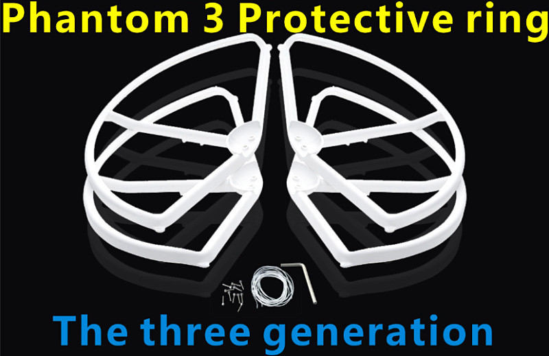 DJI Phantom 3 vision accessories protective ring paddle guard ring hoods