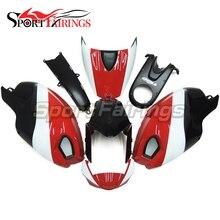Vermelho Branco Preto Carenagem Da Motocicleta Para Ducati 696 796 795 1000 1100 Ano 2009 2010 2011 Injeção ABS Kit Carenagem de Plástico Tampa
