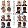 Пользовательские Волос Шт Мужские Тупею Мужские Волосы Системы Замены Волос