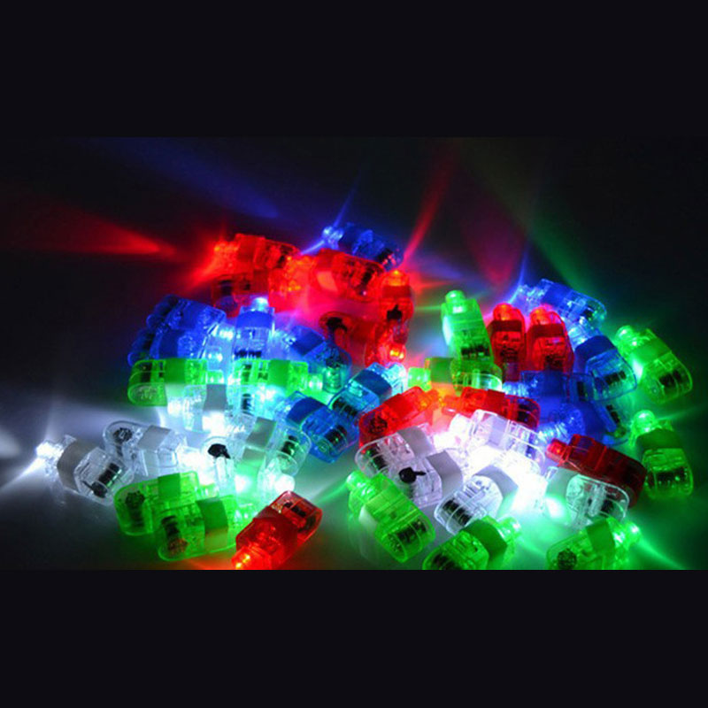 Home, Furniture & DIY Party Favours & Bag Fillers 200 PC LIGHT UP RED LASER FINGER LED RING RAVE PARTY FAVORS GLOW BEAMS TORCH