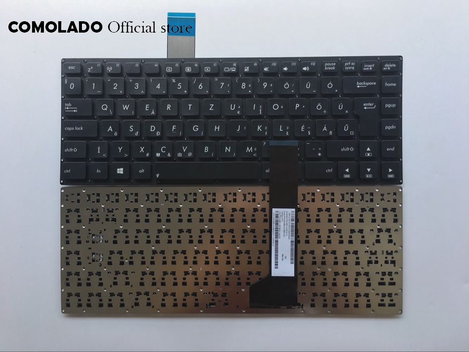 HU Hungary <font><b>Keyboard</b></font> For <font><b>ASUS</b></font> K46 K46CA K46CB <font><b>K46CM</b></font> black Without Frame <font><b>keyboard</b></font> HU Layout image