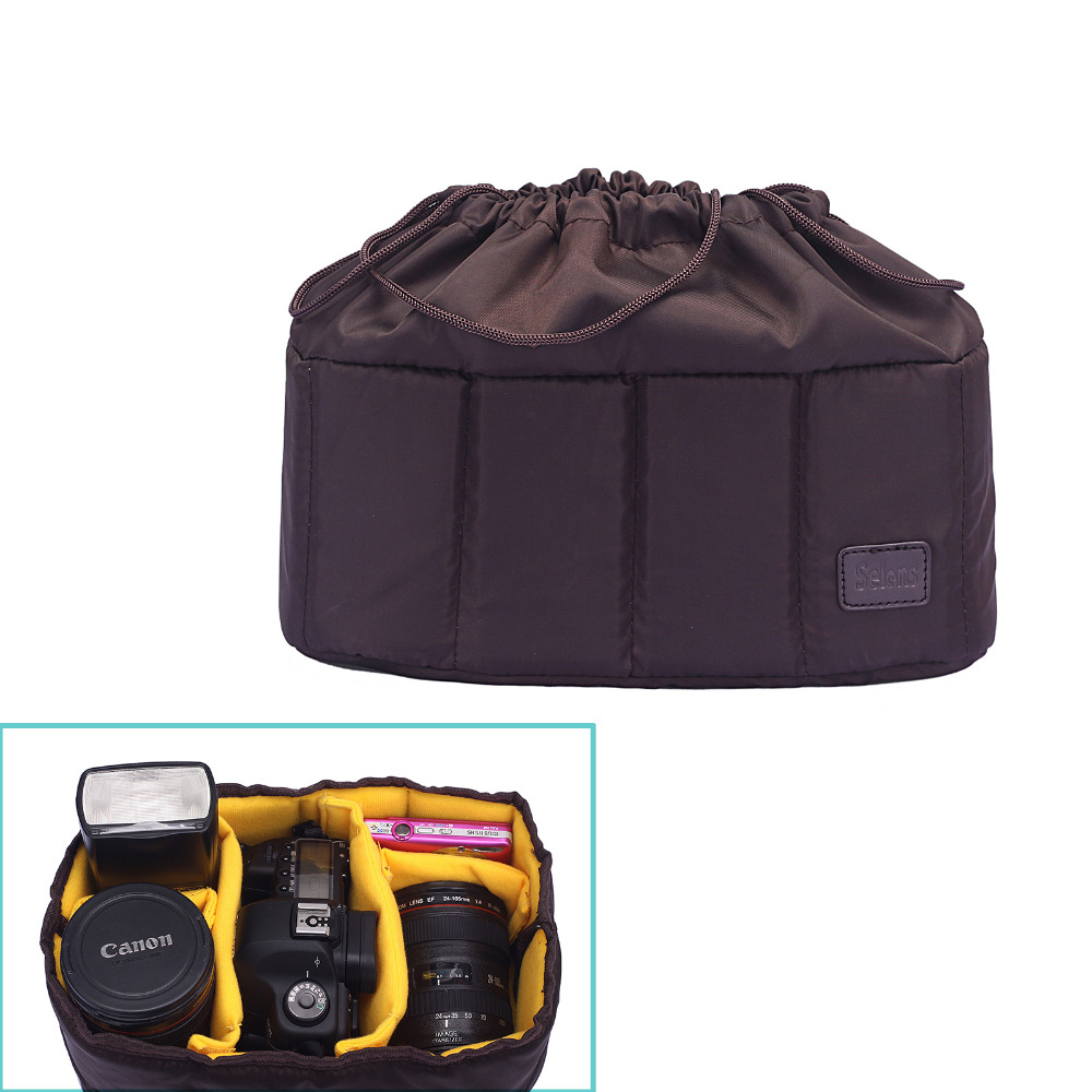 Video Photo Digital Camera Padded Backpack Bag Case Waterproof Shockproof insert Fotografia Padded Bags Camera For Canon 1300d