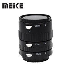 Meike S-AF-A Metal Auto Focus AF Macro Extension Tube Ring Set for Sony A57 A58 A77 A200 A300 A350 A500 A550 A580 A850 A900
