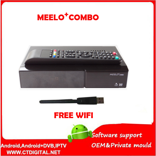 Better MEELO COMBO DVB-S2/C/T2 linux IPTV Satellite Receiver 1200MHz Dual DMIPS Processor 1G RAM 4GB ROM X SOLO MINI 3 meelo turbo dvb s2 c t2 linux iptv satellite receiver 7 segment 4 digits display processor 256mb flash 512mb ddr vs meelo one